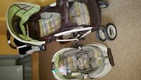 Baby Stroller  with car seat &base