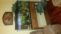 fish tank 100 gallon and stand