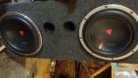 """2×12"""" subwoofer in a box"""