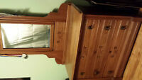 East Lake Antique dresser and mirror