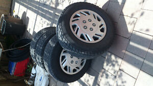 205/70/15  set of 4 WINTER  tires with rims for sale