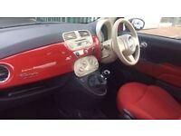 FIAT 500 1.2 Pop 3dr (red) 2009