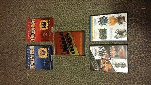 Dvds for sale $2 each,  Seasons $5 each