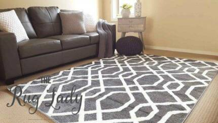 BRAND NEW!!! Modern Grey Floor Rug