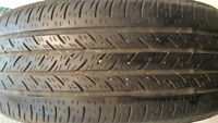VERY GOOD SET OF 2 CONTINENTAL CONTIPRO P-215-60-R-16 ALL SEASON