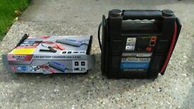 Car power jump start & battery charger