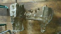 5 speed transmission and transfer case