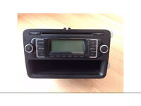 VW - Audi original Rcd 210 MP3 CD player with original booklet VW Code Text Offers 07742839813 Danny