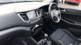 HYUNDAI TUCSON 1.7 CRDi Blue Drive SE Nav 5dr 2WD (blue) 2017