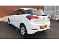 Hyundai I20 1.2 SE 5dr (white) 2017