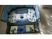 Baby Boys Cot Bedding Set