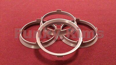 Spigot Rings for Aftermarket Alloys 67.1 - 64.1mm Honda Civic CRZ DC2 EP3 FN2