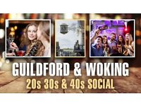 20s 30s & 40s Guildford & Woking Social