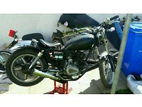 125cc spares/repairs/project