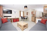 luxury static Holiday Home for sale in north wales indoor swimming pool