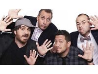 2 x IMPRACTICAL JOKERS TICKETS FOR £98 FOR BOTH TICKETS @ 02 ARENA LONDON - SUN 15TH JAN 2017