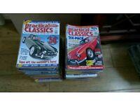 112 x Practical Classics magazines