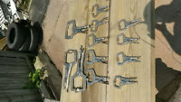 12pcs Locking Clamp set