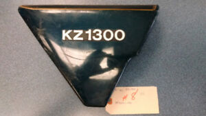 '79-'81 Kawasaki KZ1300 RH side covers
