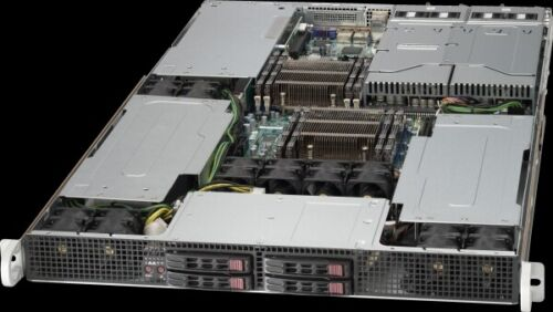 Supermicro 1U Server Mining 3 GPU Tesla Slot Xeon 20 Core 3.0Ghz Turbo 64GB Ram