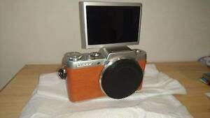BRAND NEW Panasonic Lumix GF8 - Orange + 12-32mm G Vario Lens Carlton Melbourne City Preview