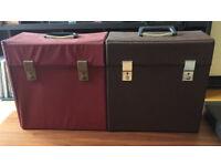 Vinyl records case/carrier