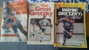 3 wayne gretzky books, earky 80's Kitchener / Waterloo Kitchener Area image 1