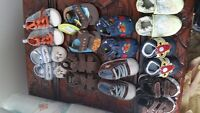 9 Pairs of Baby Boy shoes (0-3mths)