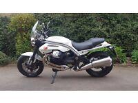 Moto Guzzi Griso, 1151cc, 2008, white, super-low mileage 3806m