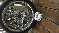 "18"" Rims with tires for sale"