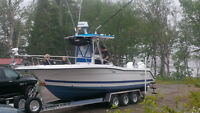 27 foot Stratos Center Console Sport fishing boat