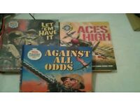 War picture library ..etc 3 large volumes