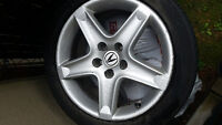 4 mags acura tl 5x114