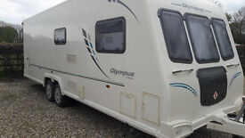 Bailey Olympus 624 2010 lovley condition only done 20 miles on the the road sold with full service