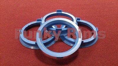 Spigot Rings for Aftermarket Alloys 67.1 - 56.1mm Honda Civic EF EG EK CRX Jazz