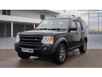 LAND ROVER DISCOVERY 3 AUTOMATIC 2.7 TDV6 DIESEL 4X4.7 SEATS-FULL SERVICE HISTORY