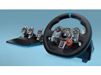 Logitech G29 Driving Force Racing Wheel brand new in the box. Unopened.