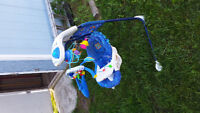 Fisher price swing and learning gym!