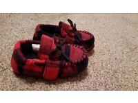 Next baby slippers new