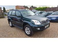 Toyota Land Cruiser 3.0 D-4D auto LC3 05 Dr 08 Seater.