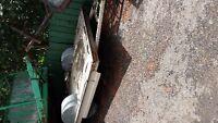 À vendre Remorque plate forme 6 X 8 Ancienne Tente Roulotte