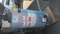 propane or gas hot water tank