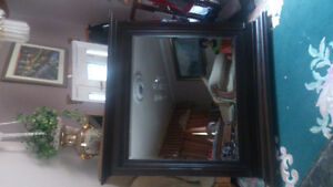 wood mirror  new  still in the box size 48 w x 44 London Ontario image 5