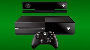 Xbox one + 2 controllers + Kinect sensor + games OBO
