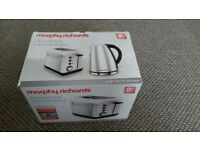 Morphy Richards Accents 2 Slice Toaster Brushed - New - Boxed
