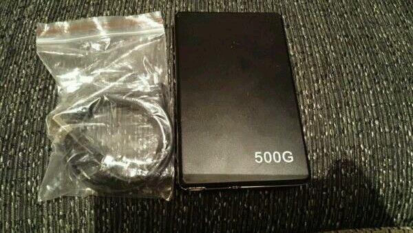 500g portable harddrive (NEW)