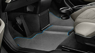 OEM BMW 2014 2017 i3 Electric All Weather Floor Mats Front  Rear 51472348072