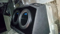 Trade Alpine Type S Subs with Box for BMX