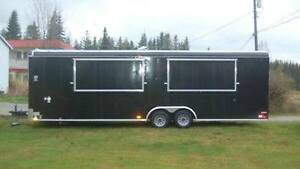 28' Food Concession Trailer