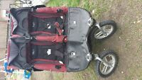 Valco Double Stroller - Double Wide
